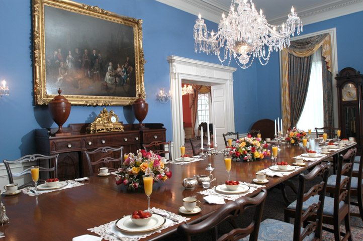 State Dining Room at Government House