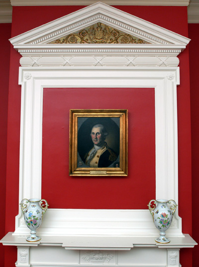 Portrait of George Washington at Government House
